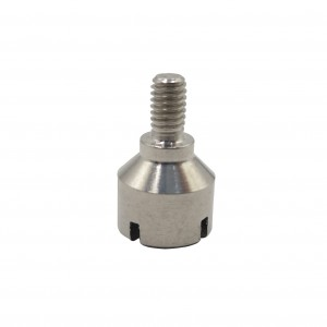 ODM Supplier Cnc Swiss Lathe Machining Steel Or Aluminum Long Straight Threaded Bungs