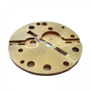 CNC Machining Watch Brass Parts With High Precision