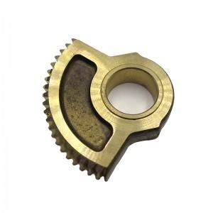 Custom CNC Milling Brass Motor Parts