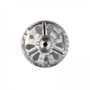 Customized CNC machined aluminum alloy component for aviation