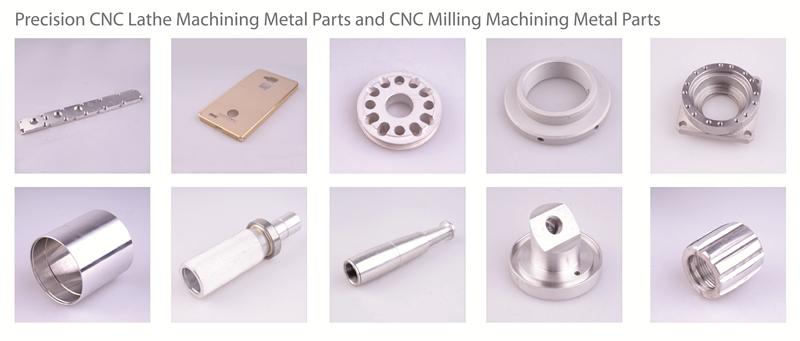 precision cnc lathe machining metal parts